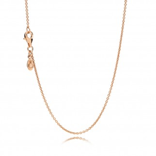 Catena in Argento Sterling 925 placcato in Oro Rosa 14K