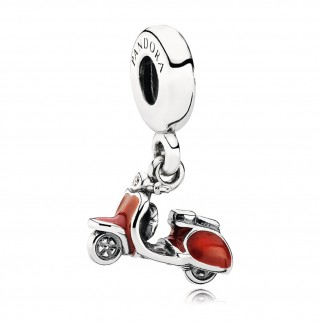 Charm con Pendente Scooter