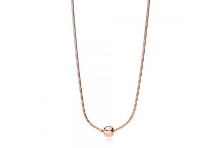 Collana Essence Collection in PANDORA Rose